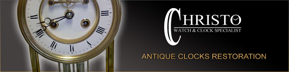 Antique clocks restoration